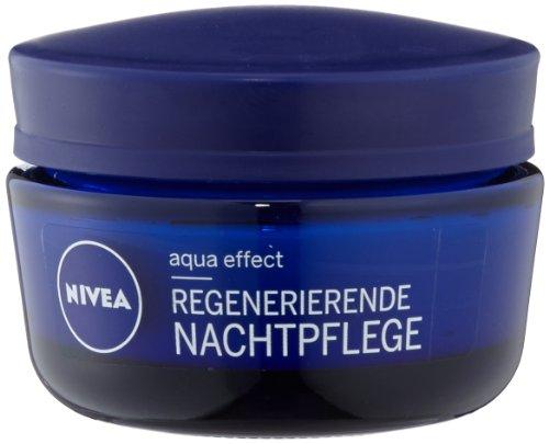 Nivea Aqua Effect Regenerierende Nachtpflege, 4er Pack (4 x 50 ml)