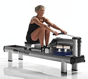 WaterRower M1 HiRise Rowing Machine with S4 Monitor by WaterRower