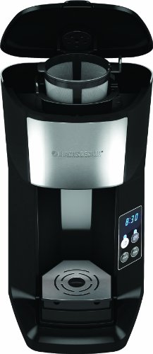 Black and Decker CM620B Programmable Single Serve Coffee Maker, Black Black Coffee Maker