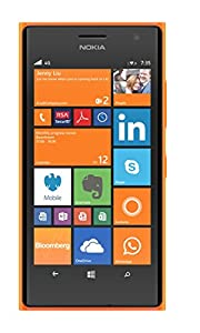 Nokia Lumia 735 4.7 inch UK SIM-Free Smartphone - Orange