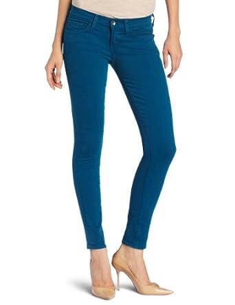 Lucky Brand Women's Charlie Skinny Jean, Satin Peacock, 25x32