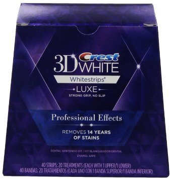 Crest 3D White Whitestrips - Professional Effects with Advanced Seal Whitening Treatment (25 Treatments) (Crest Whitening Advanced Seal compare prices)