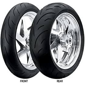 Dunlop Qualifier Street Motorcycle Tire - Size: 190/50ZR-17 - Rear