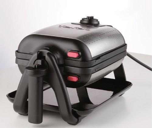 tefal wm753d12 gaufrier king size noir inox. Black Bedroom Furniture Sets. Home Design Ideas
