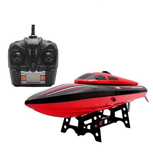 Remote Control Boat,Babrit Tempo 1 2.4GHz High Speed Remote Radio Control Electric Boat RC Boat- Only Works In Water (Upgrade Version-Bigger Size) (Rc Boats Gas compare prices)