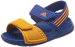 Adidas - Akwah 9 I - Color: Navy blue-Orange - Size: 6.5