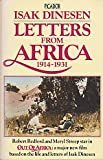 'LETTERS FROM AFRICA, 1914-31 (PICADOR BOOKS)' (033026866X) by Isak Dinesen