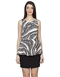 IRALZO Peplum Dress