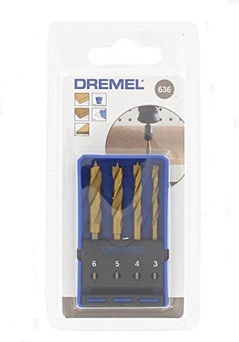 Dremel-636-Titanium-Wood-Drill-Bit-Set