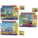 Leap Frog: My First Leap Pad Learning System 3 Book Set With I Know My Ab Cs, Once Upon A Rhyme And Bob The Builder...