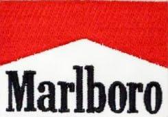 刺繍ワッペン マールボロMarlboro F1マクラーレンたばこ