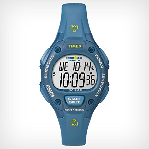 Timex Ironman 30-Lap Watch, Blue/Teal, One-Size front-702548