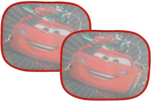 2 tlg. Set Sonnenschutz Disney Cars Seitenscheibe Sonnenblende für Kinder Auto Lightning Queen Junge