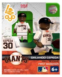 Orlando Cepeda OYO MLB HOF G2 Series 1 San Francisco Giants Mini Figure Limited Edition