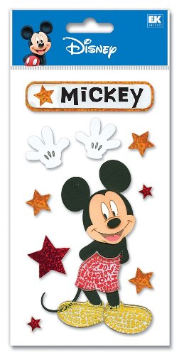 Disney Dimensional Stickers-Mickey Mouse