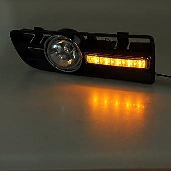 syg tm led grille grille pare chocs feu phare anti. Black Bedroom Furniture Sets. Home Design Ideas