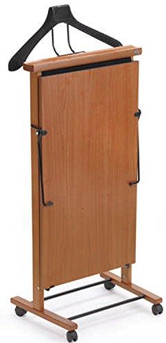 Presse pantalon électrique en Hêtre massif coloris merisier -PEGANE-