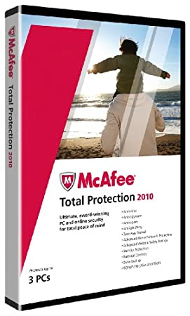 McAfee Total Protection 2010 - 3 User