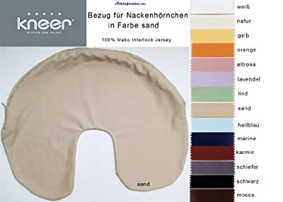 Kneer Mako Jersey Nackenhörnchen Bezug in 14 Farben