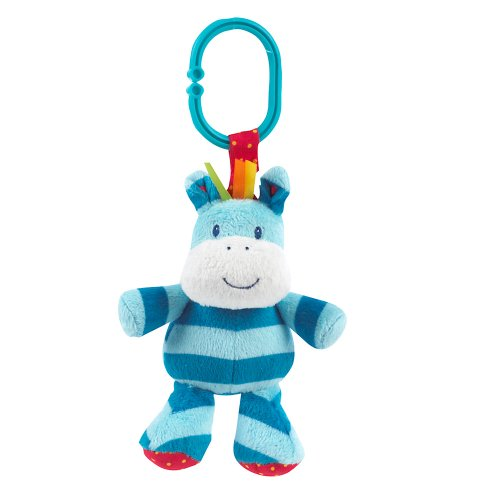 Mothercare Mothercare Safari Zebra Rattle And Jiggle (Multicolor)