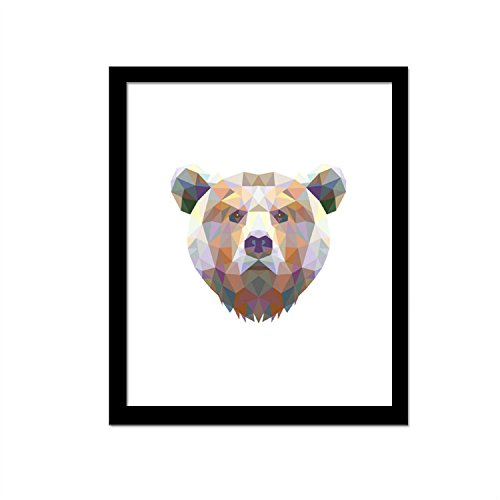 Yanqiao 3D Colorful Bear Decorative Canvas Frameless Paintings Living Room Bedroom Hotel Decor (African Safari Pictures compare prices)