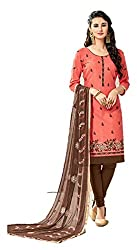 Riya Fashions Women's Cotton Unstitched Dress Material (Pack of 3)(R2001_Multicolor_Free Size)