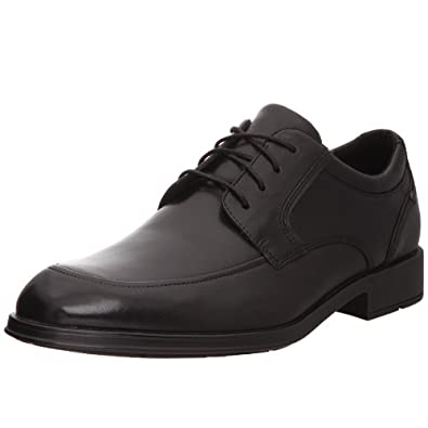 Rockport Men's Schemerhorn Mocc Toe Oxford,Black,6.5 W