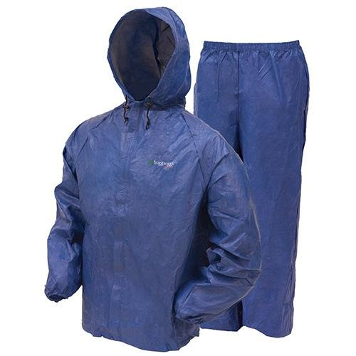 Frogg Toggs Men's Ultra Lite Rain Suit, Blue, Small