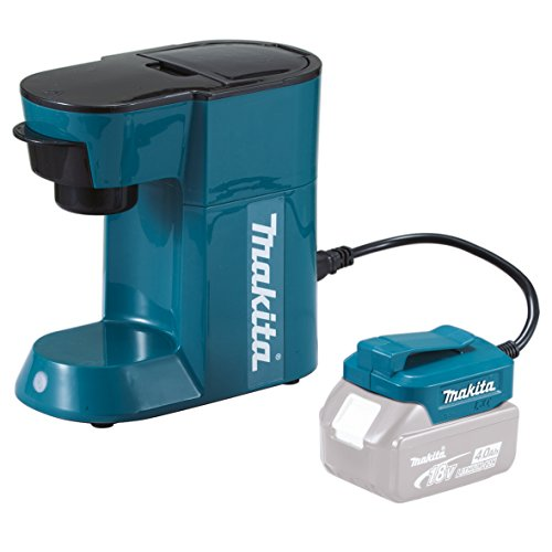 Makita DCM500Z 18v Cordless and Mains Coffee Machine