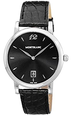 [Mont Blanc] MONTBLANC watch STAR black dial automatic winding 108769 Men's parallel import goods]