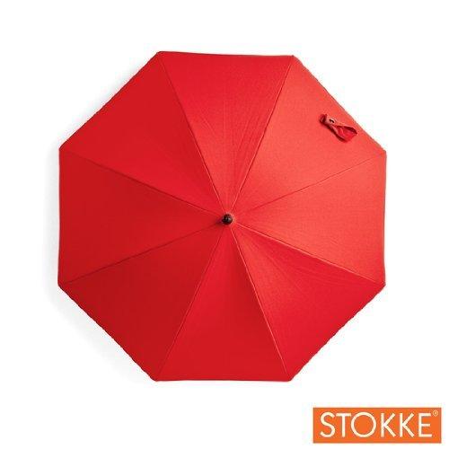 Stokke Stroller Xplory Parasol - Red front-857192