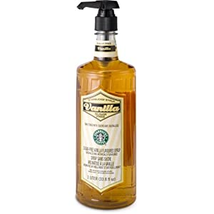 Starbucks® Sugar-Free Vanilla Syrup (1-L.)