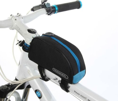 Roswheel Cycling Bike Bicycle Top Tube Tool Bag Frame Bag Pannier Pack Pouch front-1002503