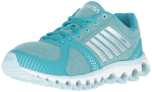 K-Swiss Women's X-160 Heather CMF Cross-Trainer Shoe, Lake Blue/Clearwater, 9.5 M US
