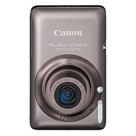 41dyBJ3QQNL. SL500 AA280  Canon PowerShot SD940IS 12.1MP Digital Camera in Brown   $219 Shipped