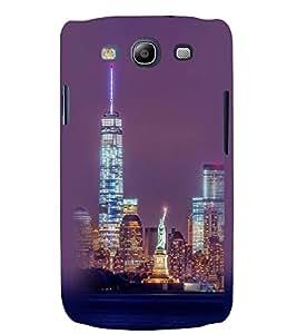 Printvisa Newyork Night View Back Case Cover for Samsung Galaxy S3::Samsung Galaxy S3 i9300
