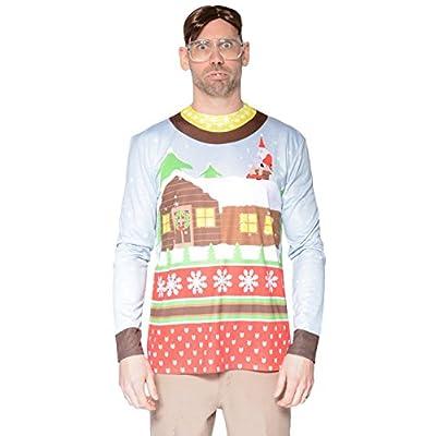 Santa On Break Sweater Longsleeve Christmas T-Shirt