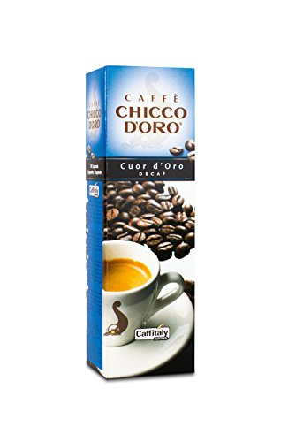 Choose 60 Chicco d'Oro Coffee Capsules Cuor d'oro Decaf - Caffè Chicco d'Oro