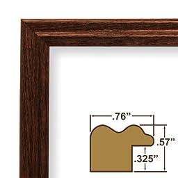 18x26 Poster Frame, Wood Grain Finish, .75\
