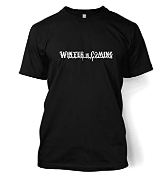 Winter Is Coming T-shirt Small Black
