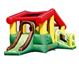 Inflatable Bounce home Bouncer Puppyland along with Slide