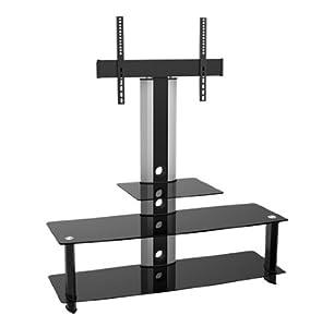 Maclean mc 626 table tv avec support pour cran lcd meuble - Table de tv led ...