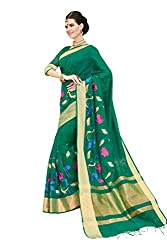 Laethnic green traditional saree