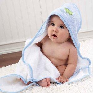 Imagen de babyaspen 4-Piece Gift Set Bathtime, 0-6 meses, Finley la Rana
