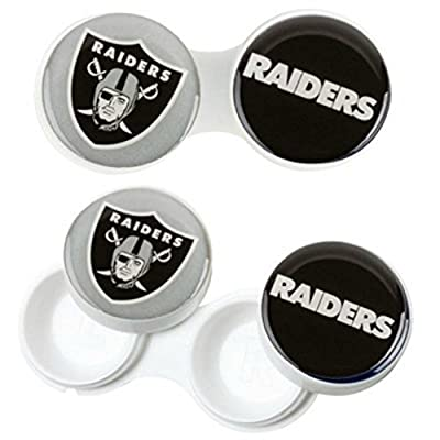 Raiders Contact Lens Case (2) Pack