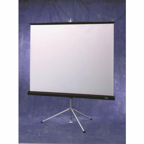 16:9 FreeStanding Projector Screen Kit White Carl's Blackout Cloth 5x9