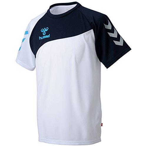 (ヒュンメル)Hummel ドライTシャツ HAY2060 10 ホワイト L