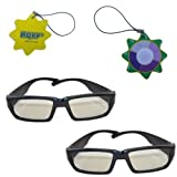 HQRP Polarized 3D Glasses -(Pack