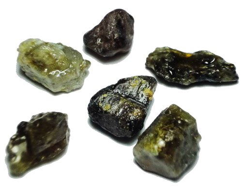 6 Pcs. Gemstone Rough Lot 95.8CT.*FREESHIP*
