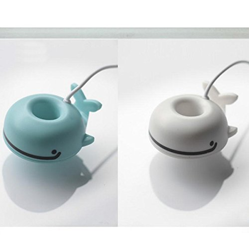 Mini Mute Whale Humidifier Touch Control Moistener